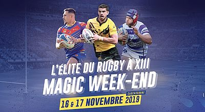 Rugby à XIII : Un Magic Week-End sur viàOccitanie !