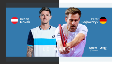 [DIRECT] D. Novak (AUT) vs P. Gojowczyk (GER)