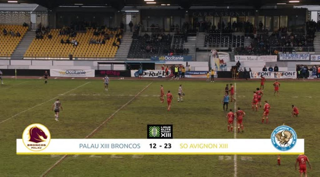 Palau XIII Broncos / S.O. Avignon XIII du samedi 16 novembre - ViàOccitanie