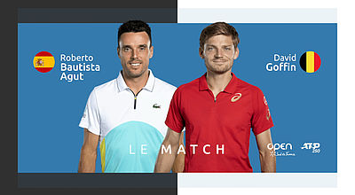 Replay : R. Bautista Agut (ESP) vs D. Goffin (BEL) - Finale