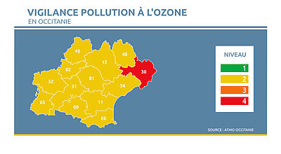 Qualité de l'air : L'Occitanie en bonne santé mais attention à l'ozone
