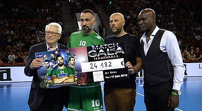 Inside : Match de gala contre le cancer avec les stars du handball