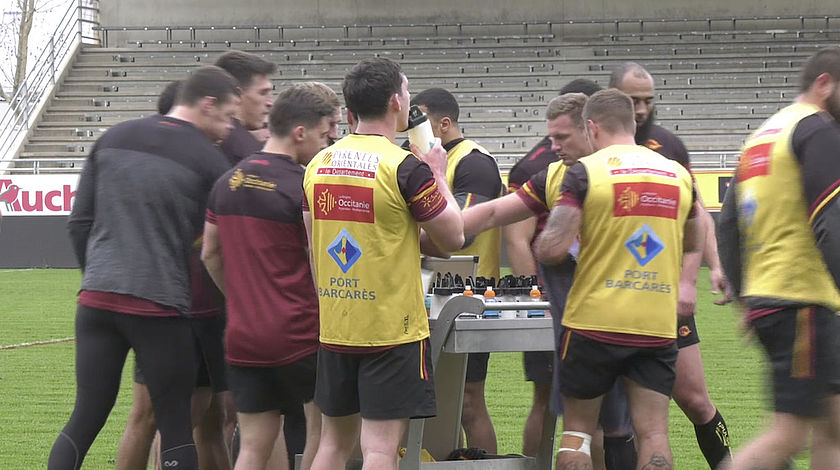 Les Dragons catalans lancent leur saison de Superleague