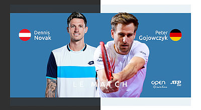 Replay : D. Novak (AUT) vs P. Gojowczyk (GER) - Quart de finale de l'Open Sud de France