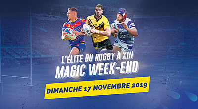 [DIRECT] Rugby à XIII Championnat Élite 1 : Magic week-end