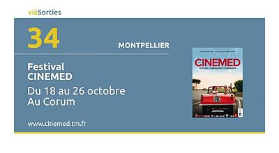 41e CINEMED - Festival International du Cinéma Méditerranéen