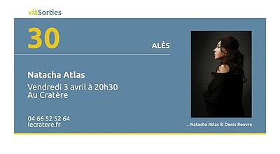 Natacha Atlas au Cratère d'Alès